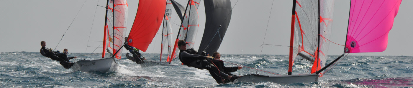 29er Regatta segeln