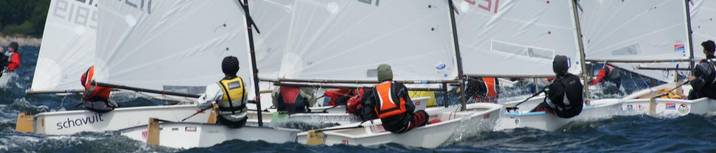 Optitraining Ostsee segeln