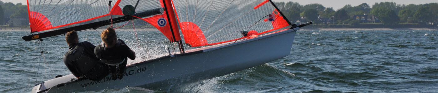 29er Regatta segeln Regattatraining Ostsee