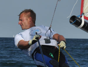 Segeltrainer Patrick Böhmer Musto Skiff