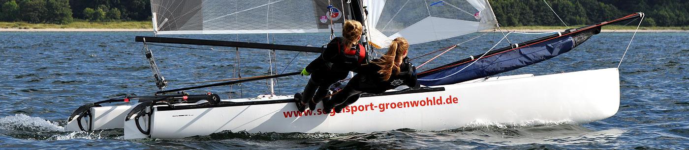 Katamaransegeln Cat segeln Ostsee