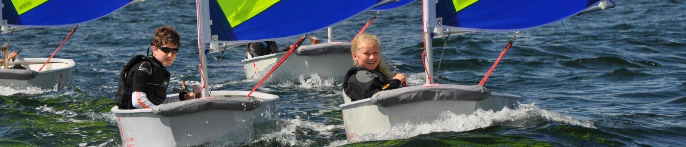 Opti segeln lernen Ostsee
