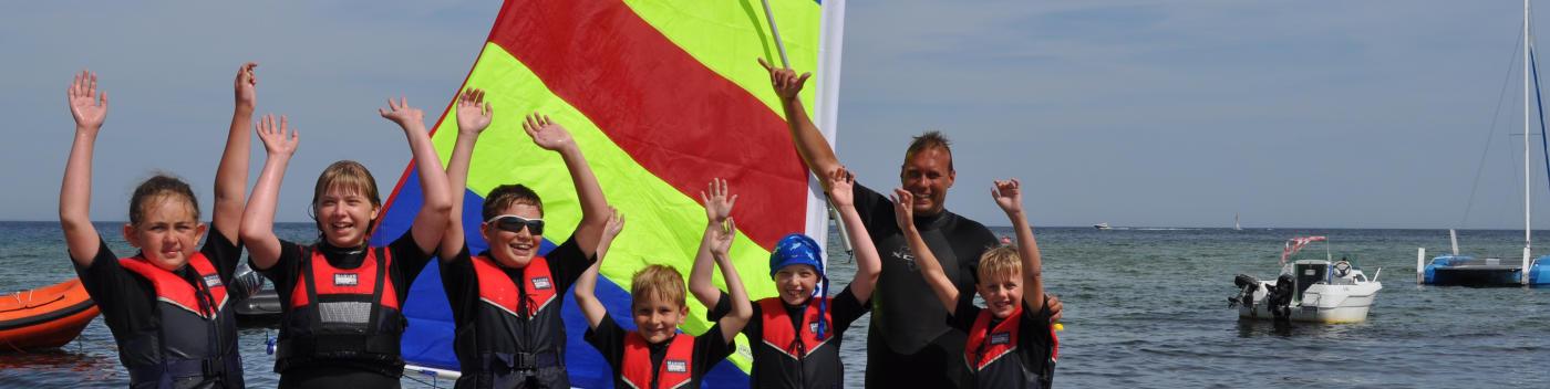 Sommercamp segeln an der Ostsee