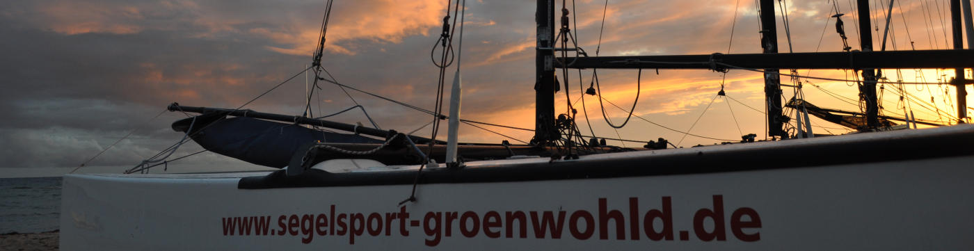 Katamaransegeln Ostsee Eckernförde segeln