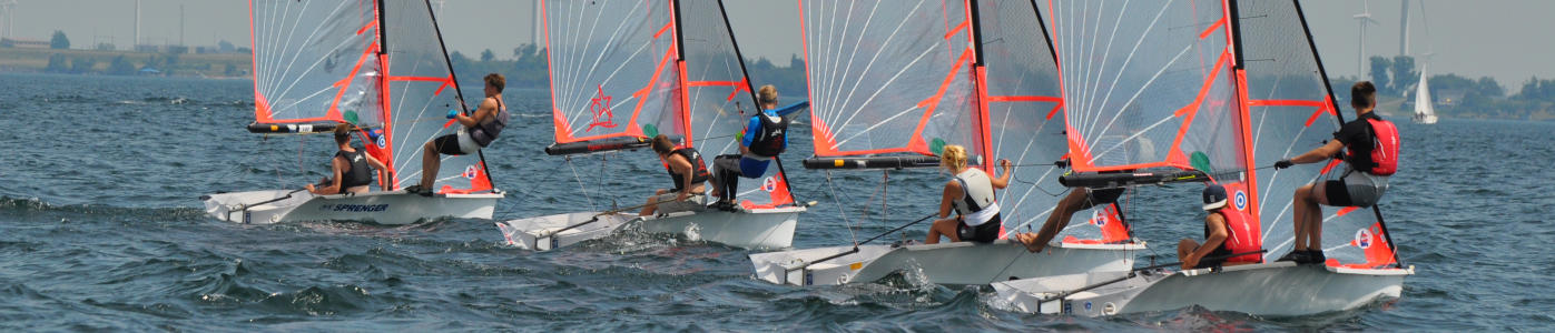 29er Regatta training