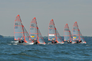 29er Regattatraining Ostsee