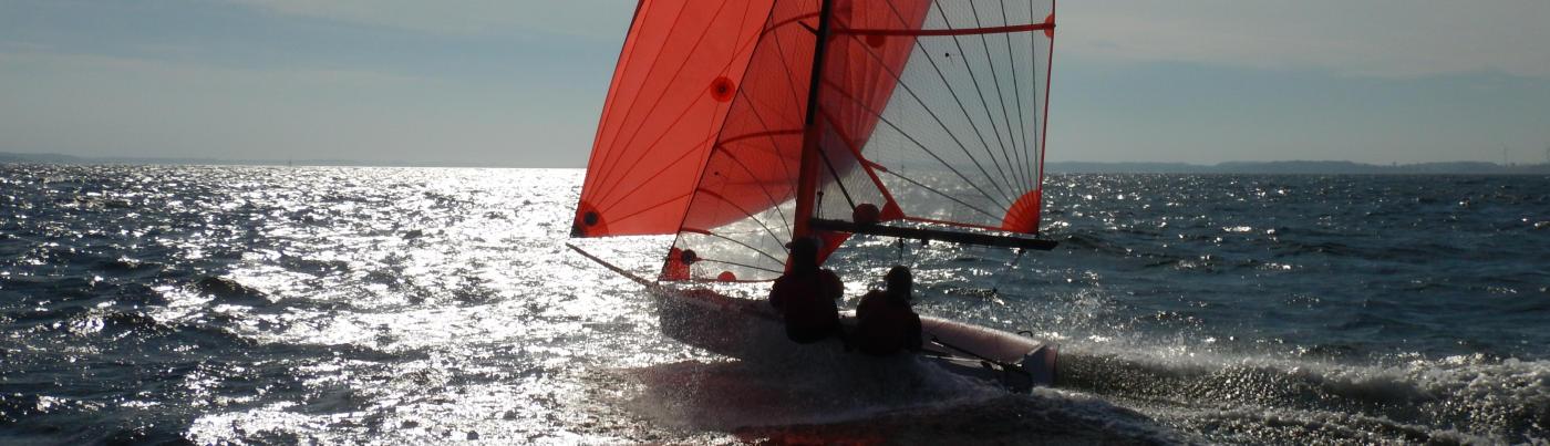 29er training Kiel Ostsee