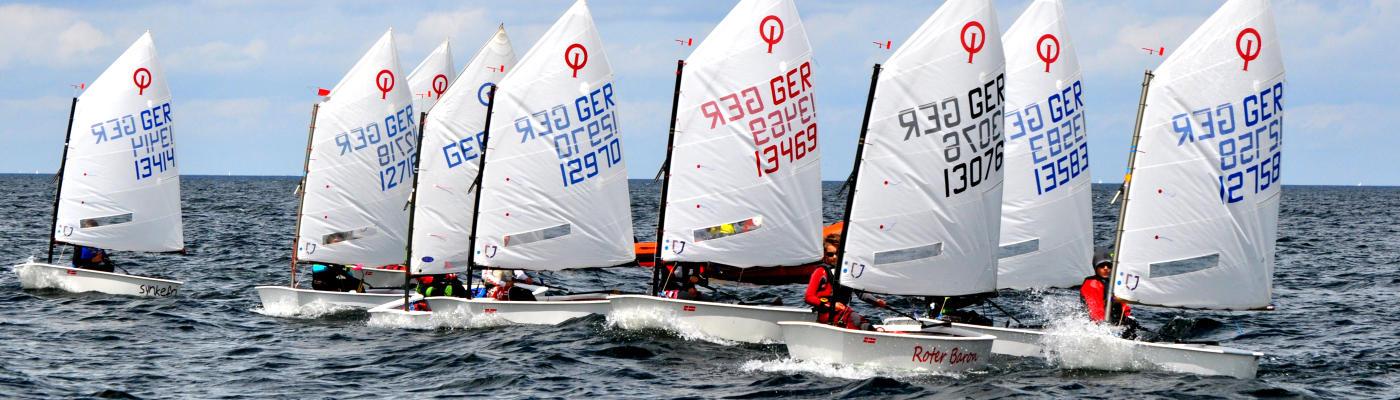 Opti training Ostsee Kiel