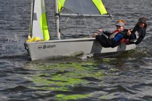 Jolle segeln Sommercamp