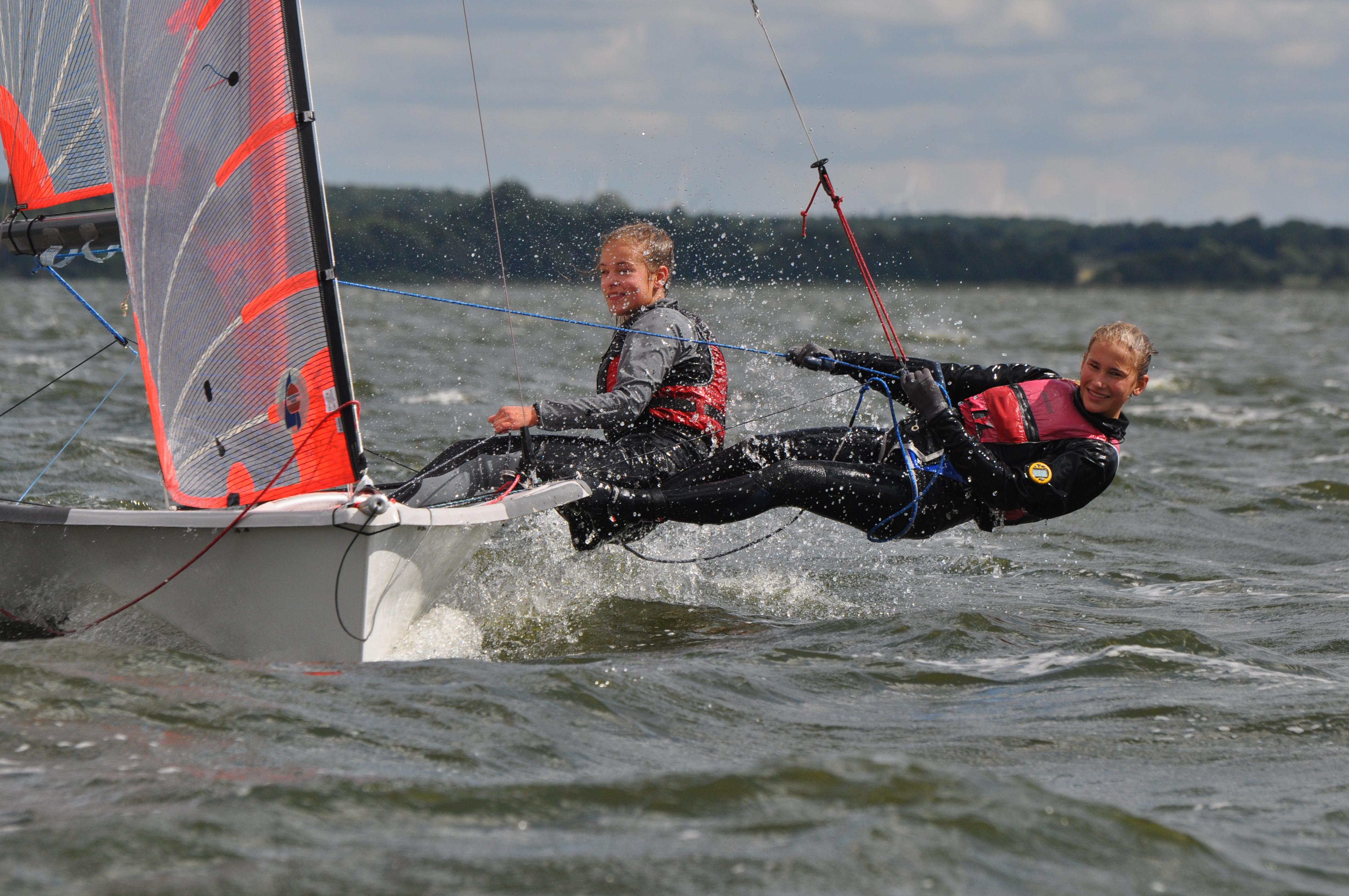 Summercamp Ostsee segeln lernen