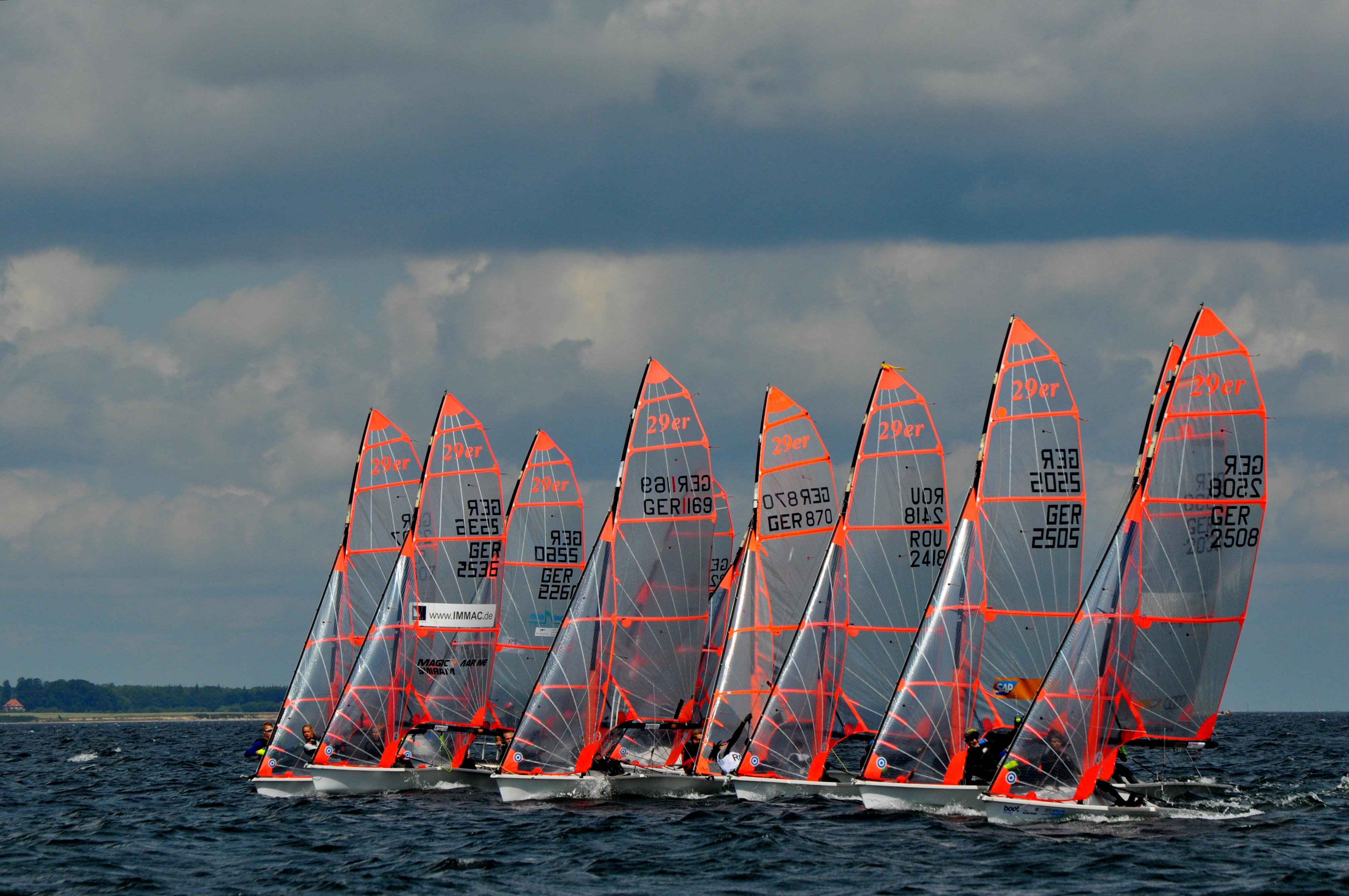 29er training segeln Ostsee Eckernförde