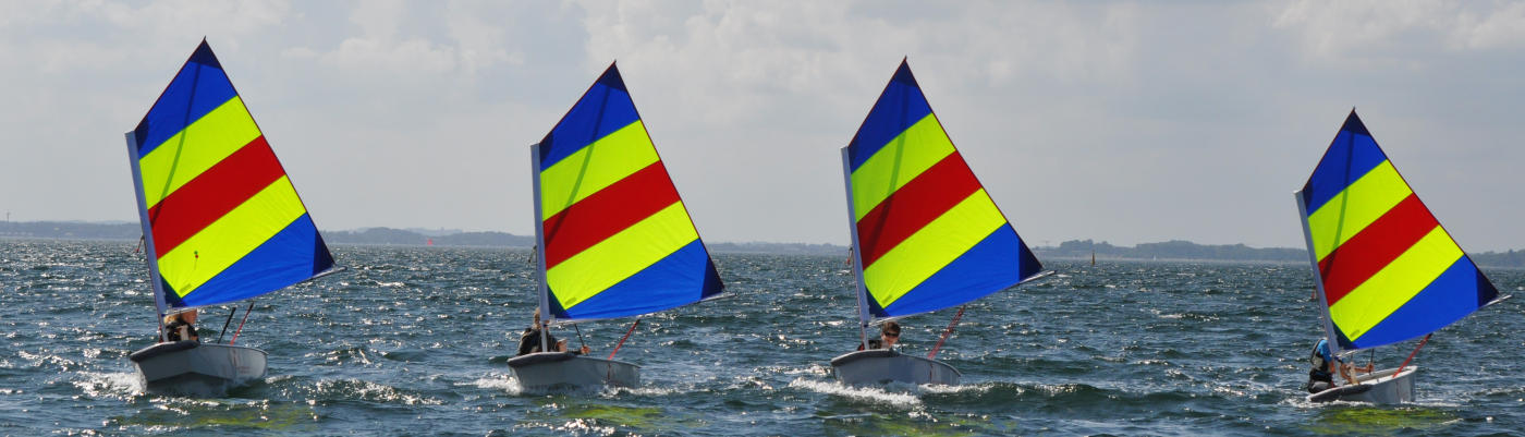 Wassersportcamp Ostsee Optisegeln