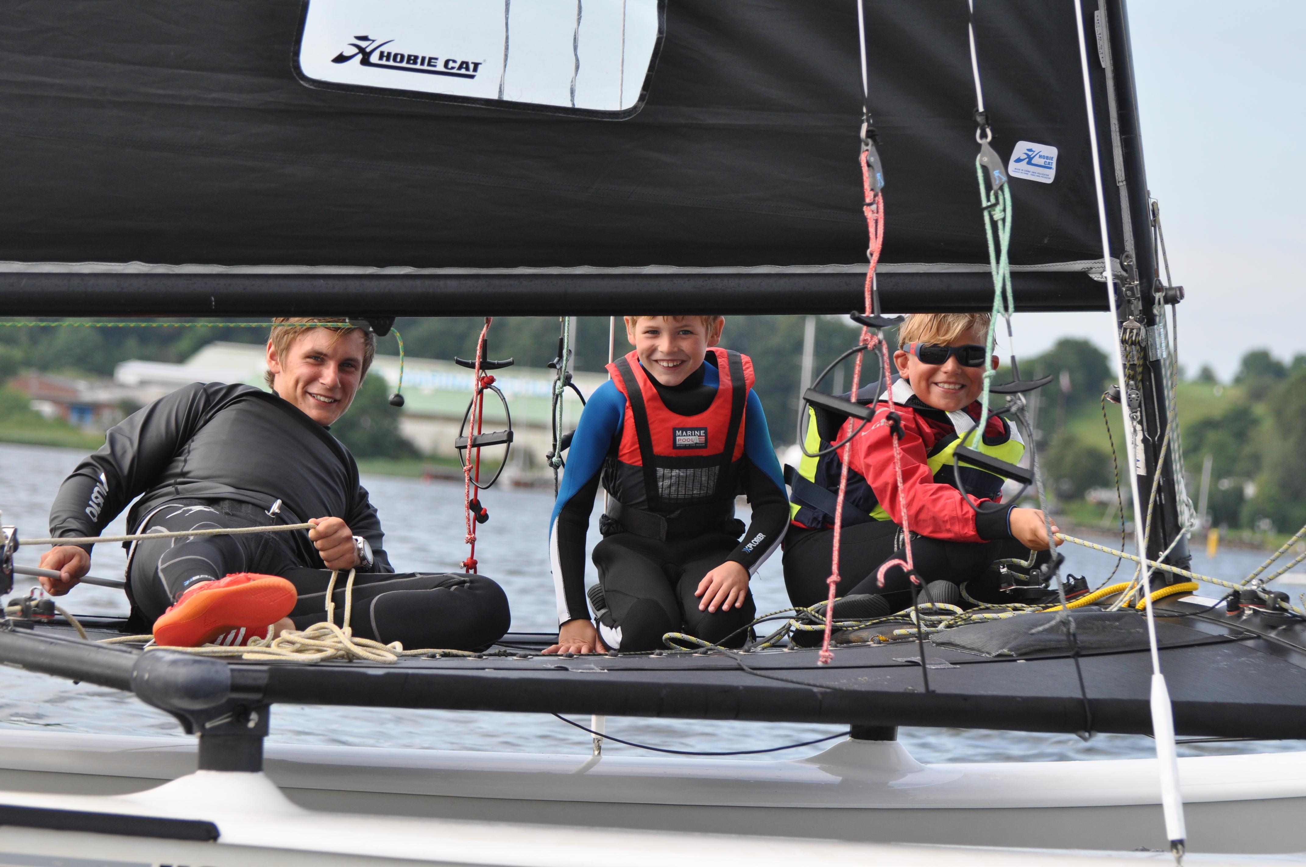 Hobie Cat segeln Ostsee Eckernförde