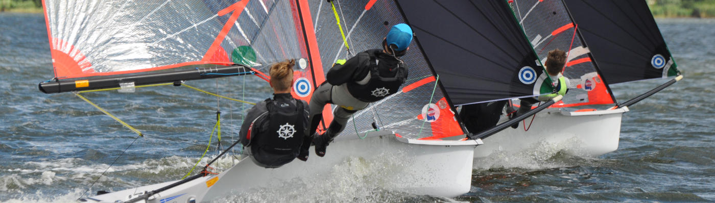 29er segeltraining Ostsee Eckernförde Kiel