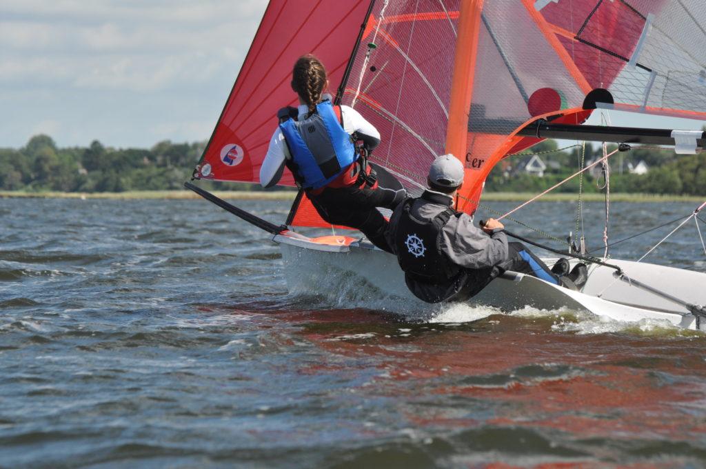 29er segeln Ostsee