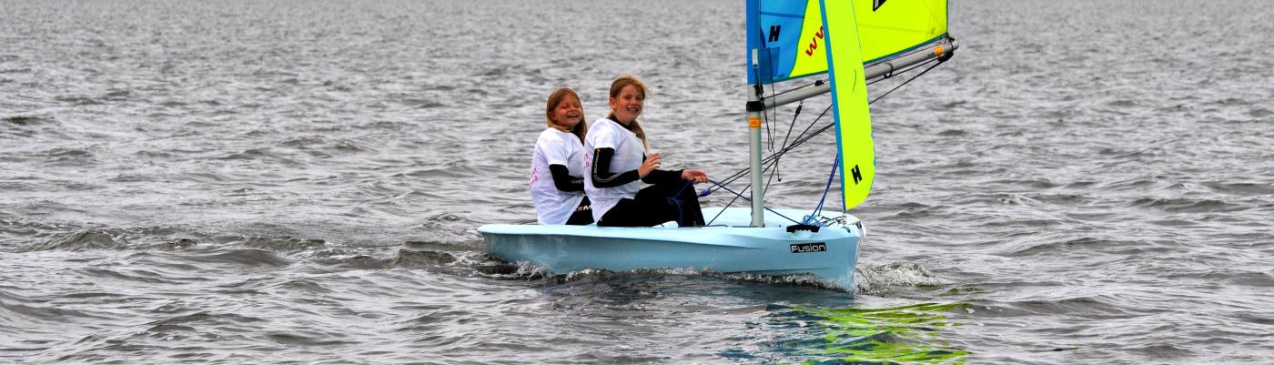 Segelcamp segeln an der Ostsee