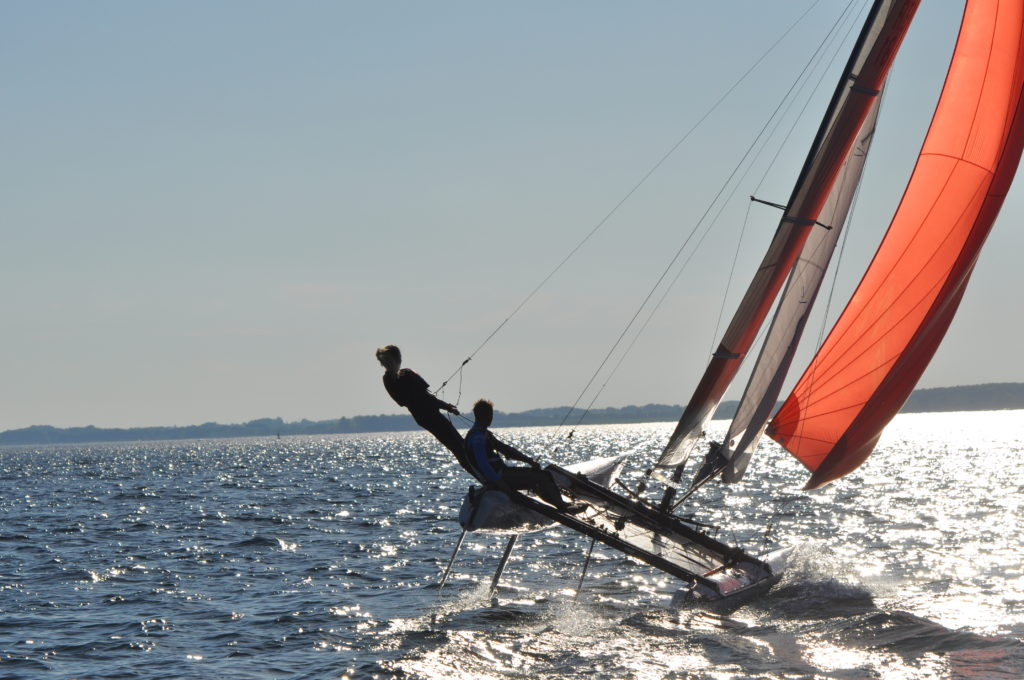 segeln lernen Ostsee