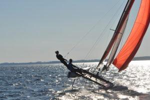 Katamaran segeln Ostsee